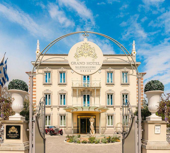 Grand Hotel Salsomaggiore Außenansicht