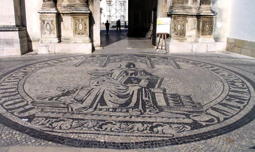 Straßenkunst Universität Coimbra