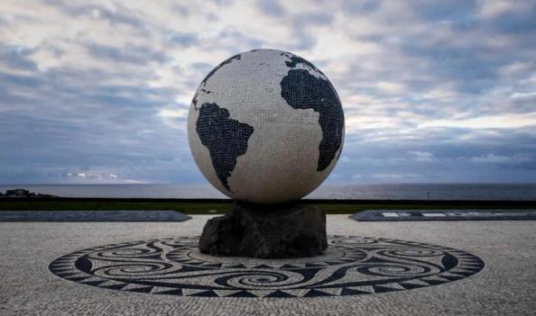 Azoren Weltkugel