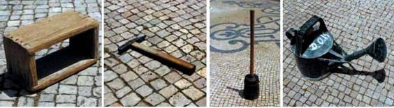 Werkzeug für Calçada Portuguesa