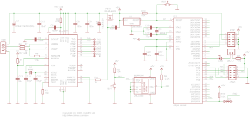 small resolution of avr p40 usb schematic