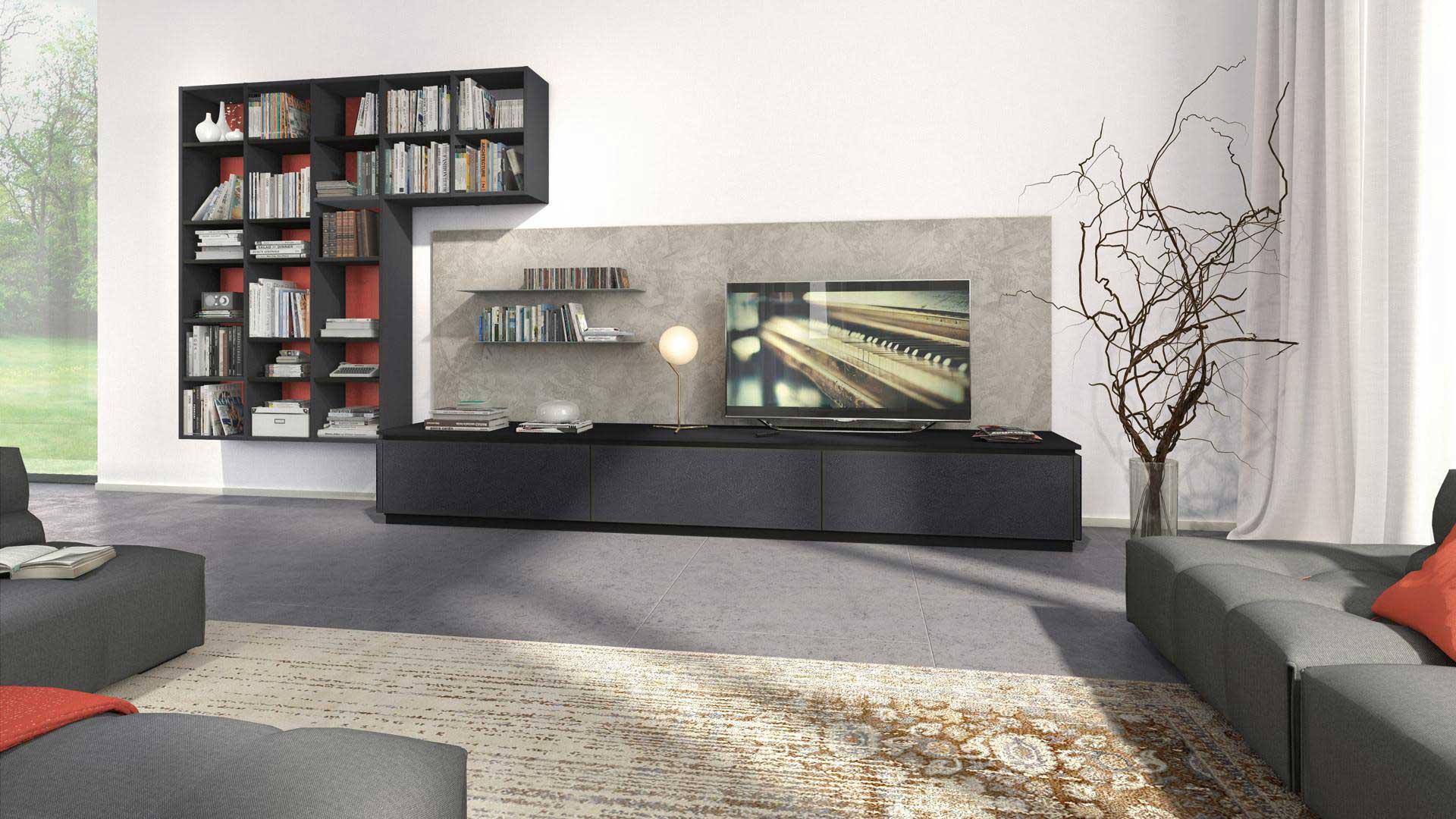 Lube cucina OLTRE design materico  wwwolimparredamentiit