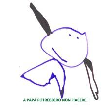 Un disegno per papà.