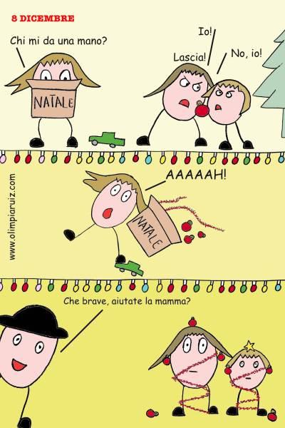 Vignette - L'albero di Natale
