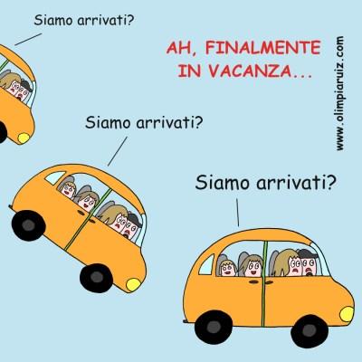 Vignette sulla vita in famiglia - Vacanza
