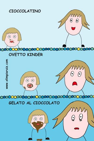 Vignette in famiglia - Cioccolato