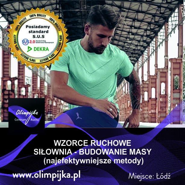 WZORCE RUCHOWE/ SIŁOWNIA z Fabio Ponzio 9-10.11.2019r.