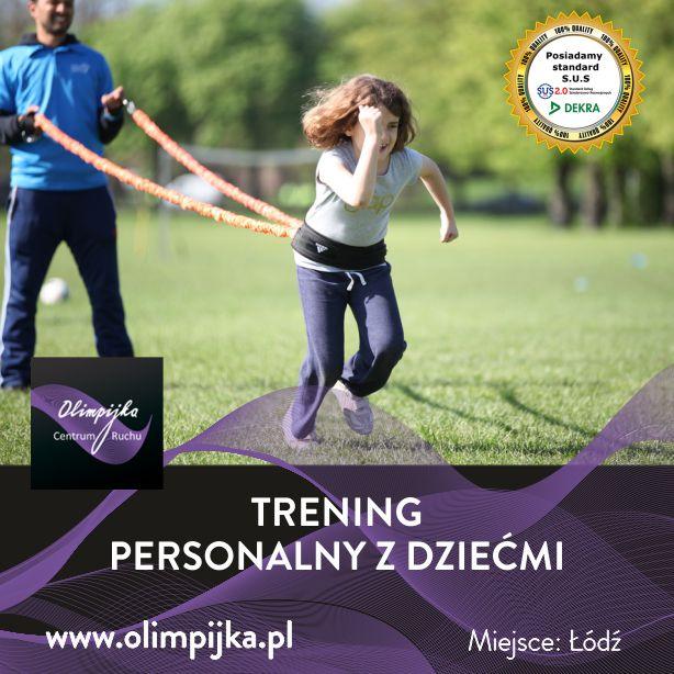 Kurs Trening Personalny z dziećmi ŁÓDŹ 29-30.05.2021r.