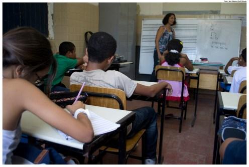 Sala de aula do Centro de Educação Musical de Olinda (CEMO). Foto: Jan Ribeiro/Pref.Olinda