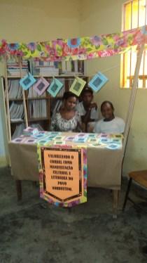 I Feira Literária da Escola Iracema Pires, em Aguazinha.
