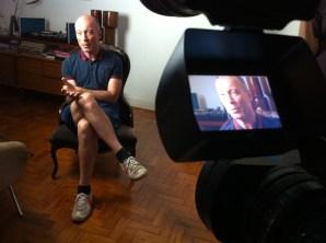 """Cena do documentário """"Democracia em Preto e Branco"""" (foto), dirigido por Pedro Asbeg"""