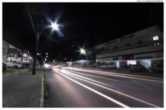 Nova iluminação da Avenida Carlos de Lima Cavalcanti. Foto: Luiz Fabiano/Pref.Olinda