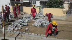 Pavimentação. Foto: Secretaria de Obras de Olinda