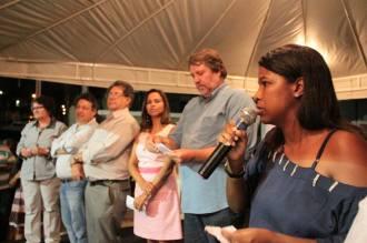 Inauguração da Rua 2, em Rio Doce. Foto: Jan Riibeiro/Pref.Olinda