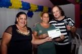 350 jovens, adultos e idosos participaram do Programa Brasil Alfabetizado em Olinda. Foto: Diego Galba/Pref.Olinda
