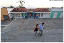 Novo Mercado de Artesanato Silvia Pontual - Revitalização do Alto da Sé. Foto: Luiz Fabiano/Pref.Olinda