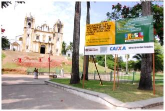 Reforma na Igreja do Carmo. Foto: Passarinho/Pref.Olinda