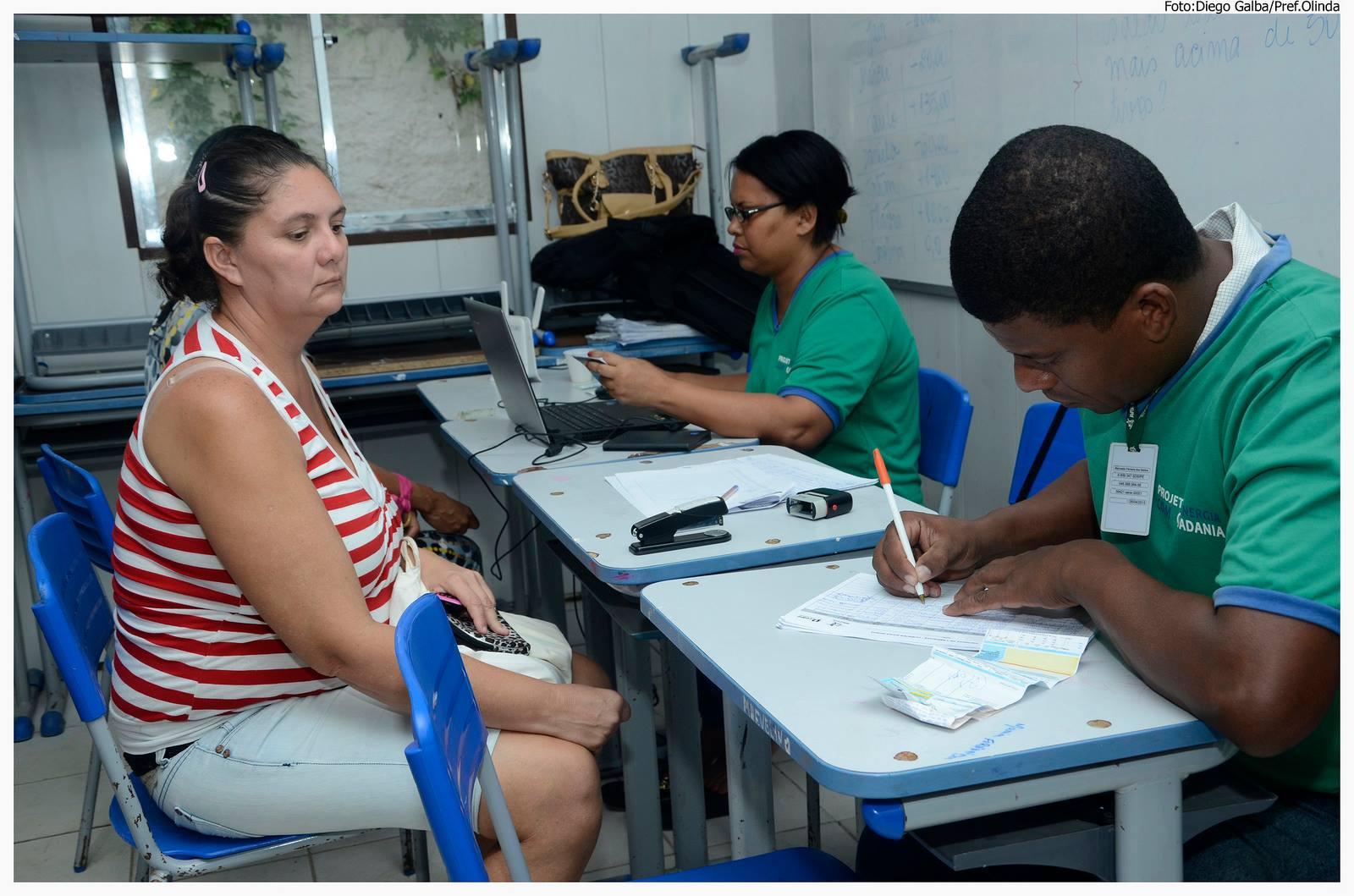 Olinda em Ação leva cidadania às comunidades de Olinda. Foto: Diego Galba/Pref.Olinda