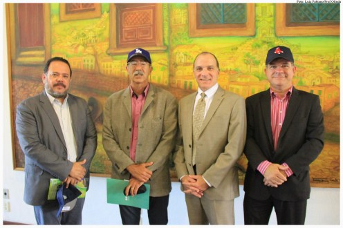 Cônsul dos Estados Unidos no Recife, Richard Reiter, membros do Georgia Partners of the Americas e da administração municipal. Foto: Luiz Fabiano/Pref.Olinda