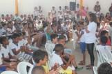 Crianças de 6 a 11 anos participaram das atividades. Foto: Tiago Peixoto/Pref.Olinda