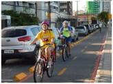 Ciclovia da Nova Orla de Olinda. Foto: Diego Galba/Pref.Olinda