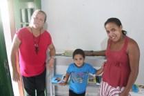 Roberta Barros, à esquerda, é professora e idealizadora do projeto. Foto: Rodrigo Barradas/Pref.Olinda