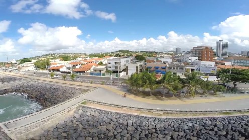 Vista aérea da Nova Orla de Olinda