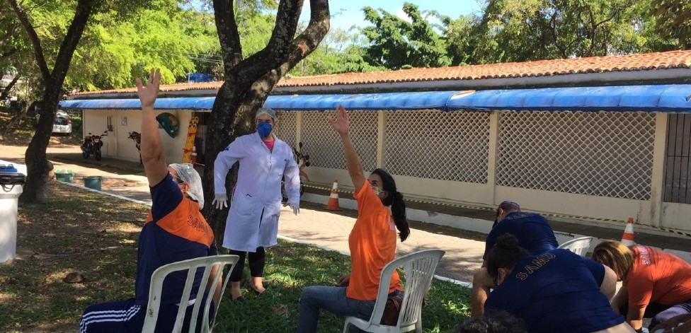 Projeto para melhorar o dia a dia dos profissionais de saúde atende o SAMU de Olinda thumbnail