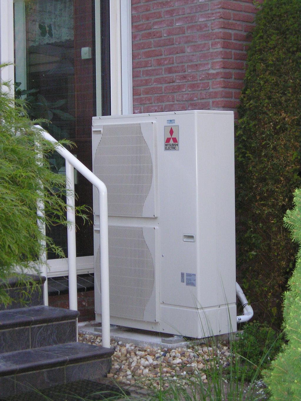 The Air/Water Heatpump in detail
