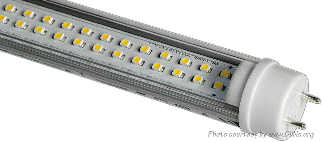LEDLampendirectnl  150 cm ledbuis  Lampmetingen OliNo