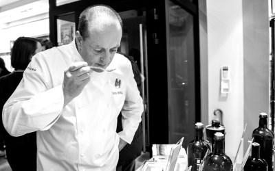 Chez le chef Carlos Marsal, c'est le parfum qui dirige.