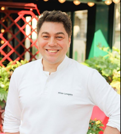 Pastry Chef William LAMAGNERE LA CLOSERIE DES LILAS