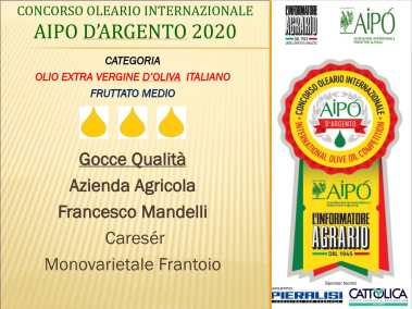 AIPO D'ARGENTO 2020
