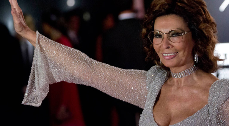 Sophia Loren Aceite de Oliva