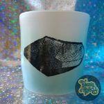 Crystal Shard Tumbler - Aqua