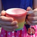 Mini Rainbow Alicorn Mug