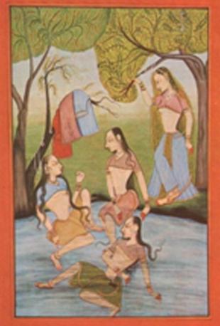ayurvedic massage with water