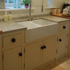 Free Standing Kitchen Cupboards Faucets Review Units | Belfast Sink Unit Larder ...