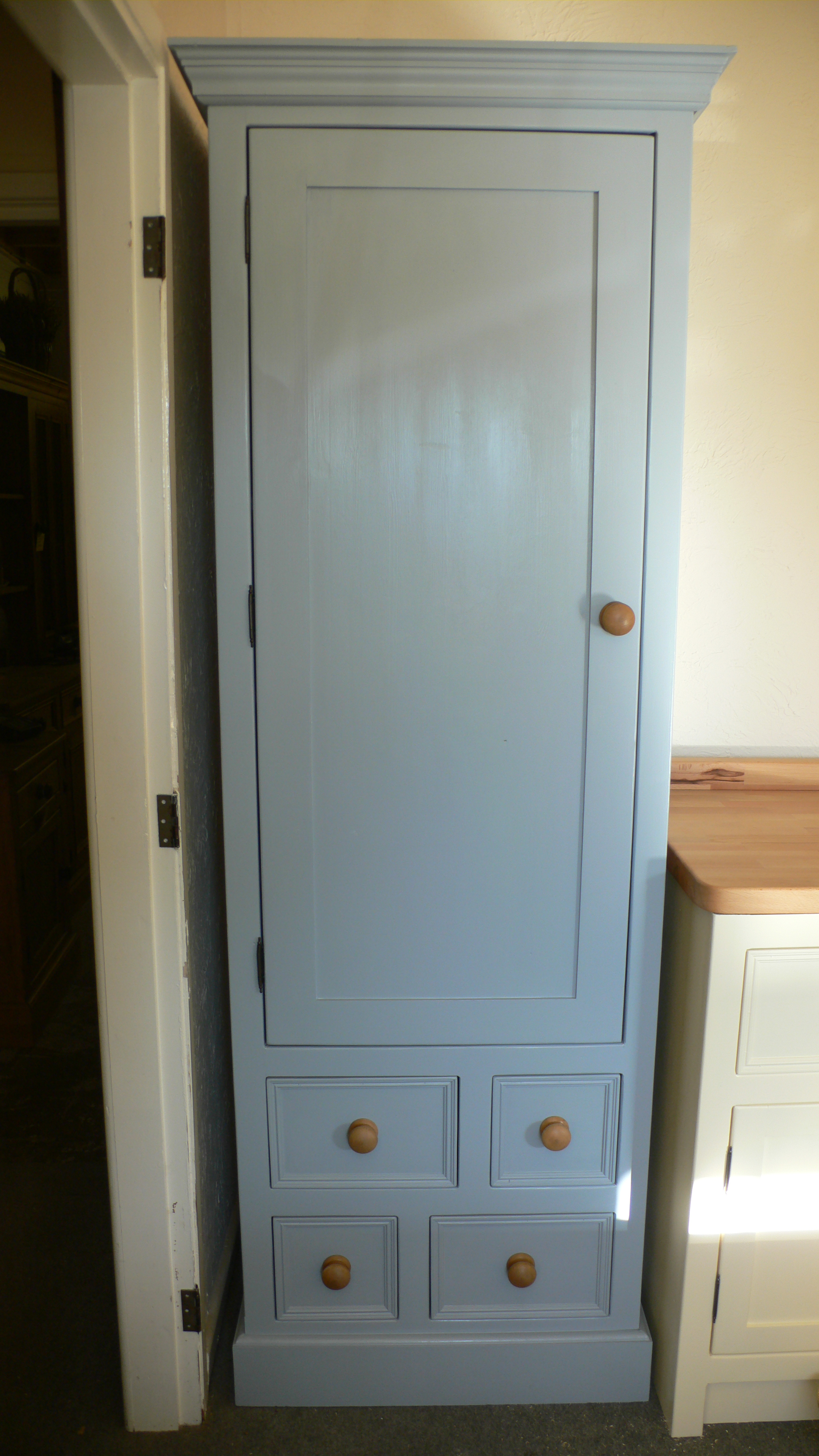 slimline larder cupboard  The Olive Branch Kitchens Ltd