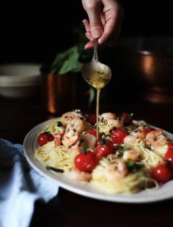 Butter Shrimp Scampi