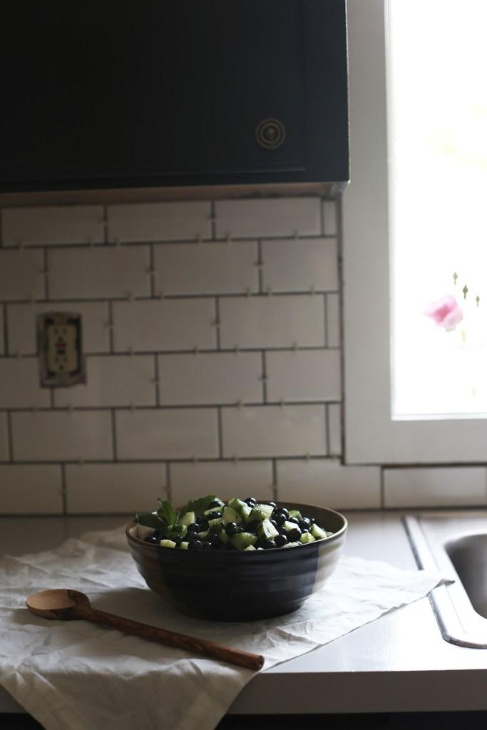 Blueberry Mojito Fruit Salad
