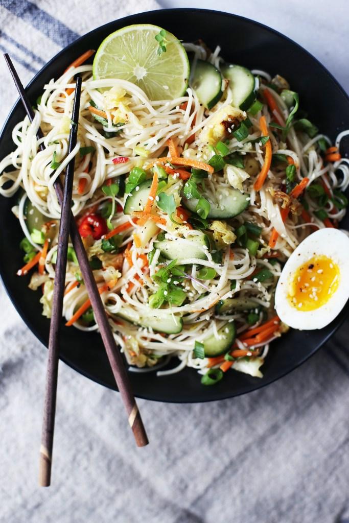 Citrus Cold Soba Noodle Salad