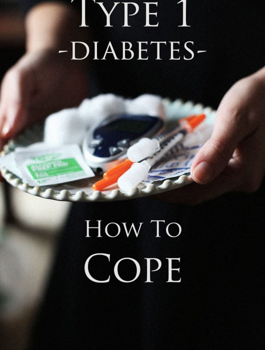 Learning how to cope with the life changing diagnosis of type one diabetes