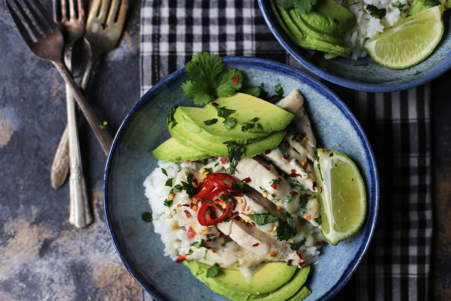 Cilantro Lime Coconut Chicken