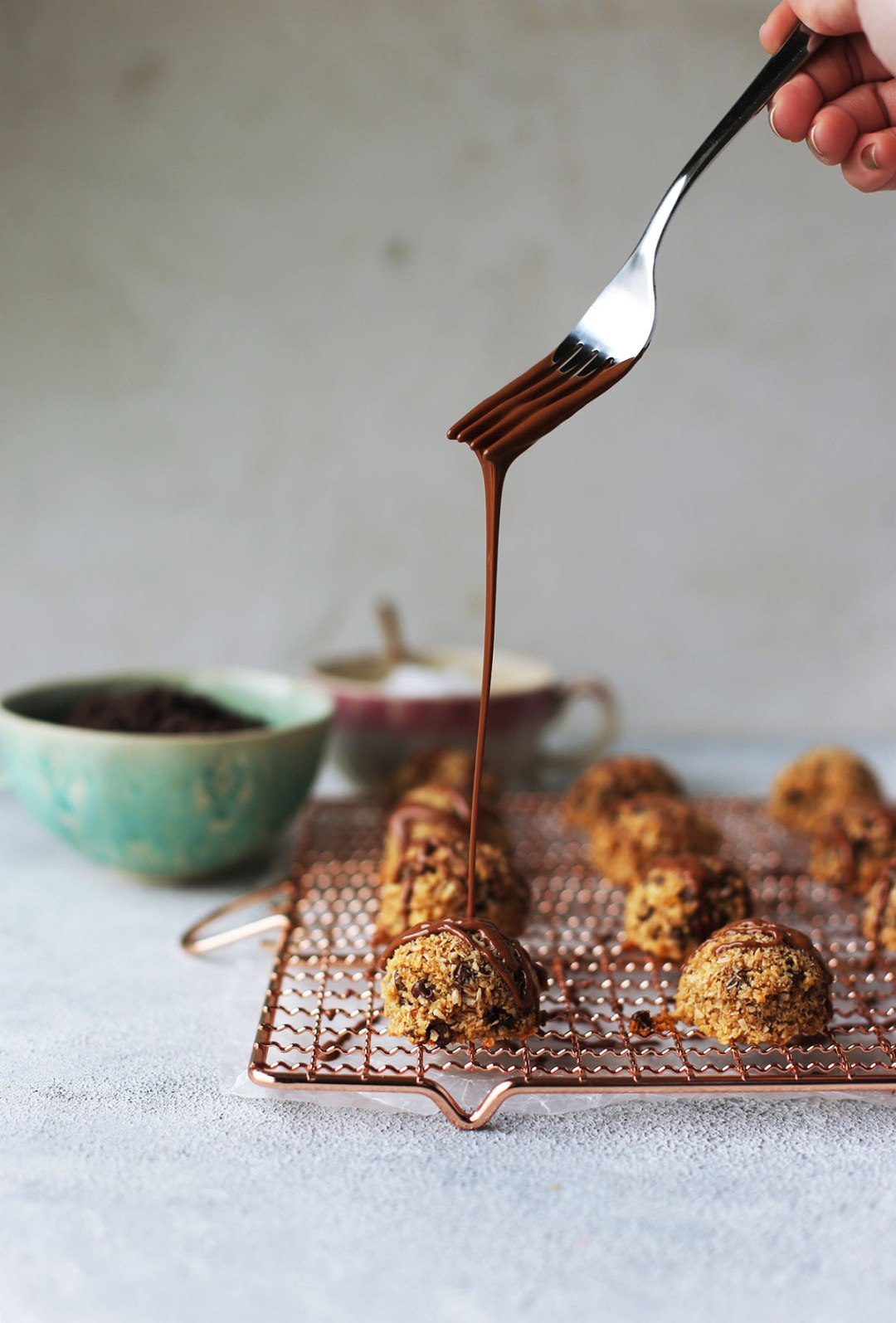 Chocolate Chip Cookie Coconut Macaroons