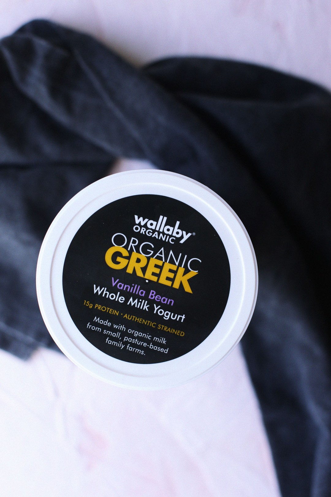 What I've been eating: Wallaby Organic Greek Yogurt