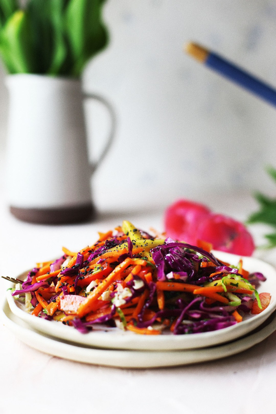 MangoTropical Rainbow Coleslaw