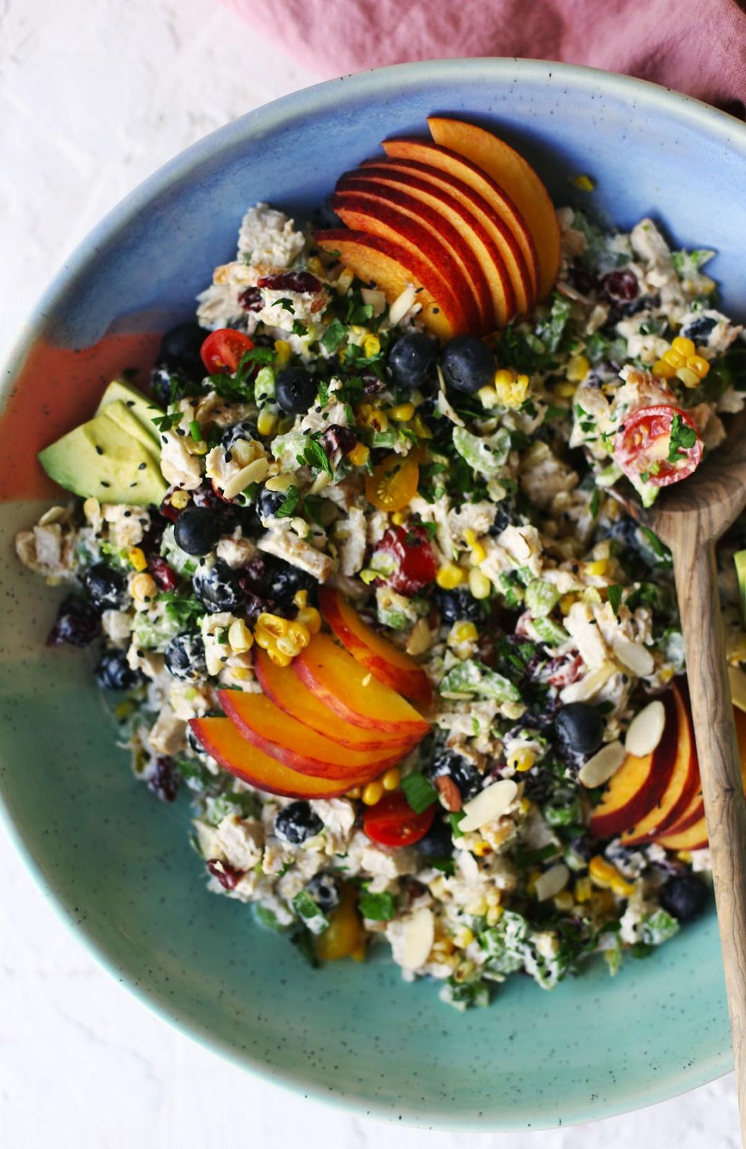 Summer Fruit Chicken Salad