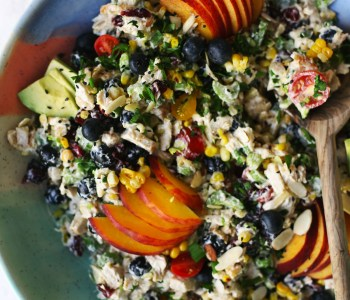 Summer Fruit Chicken Salad