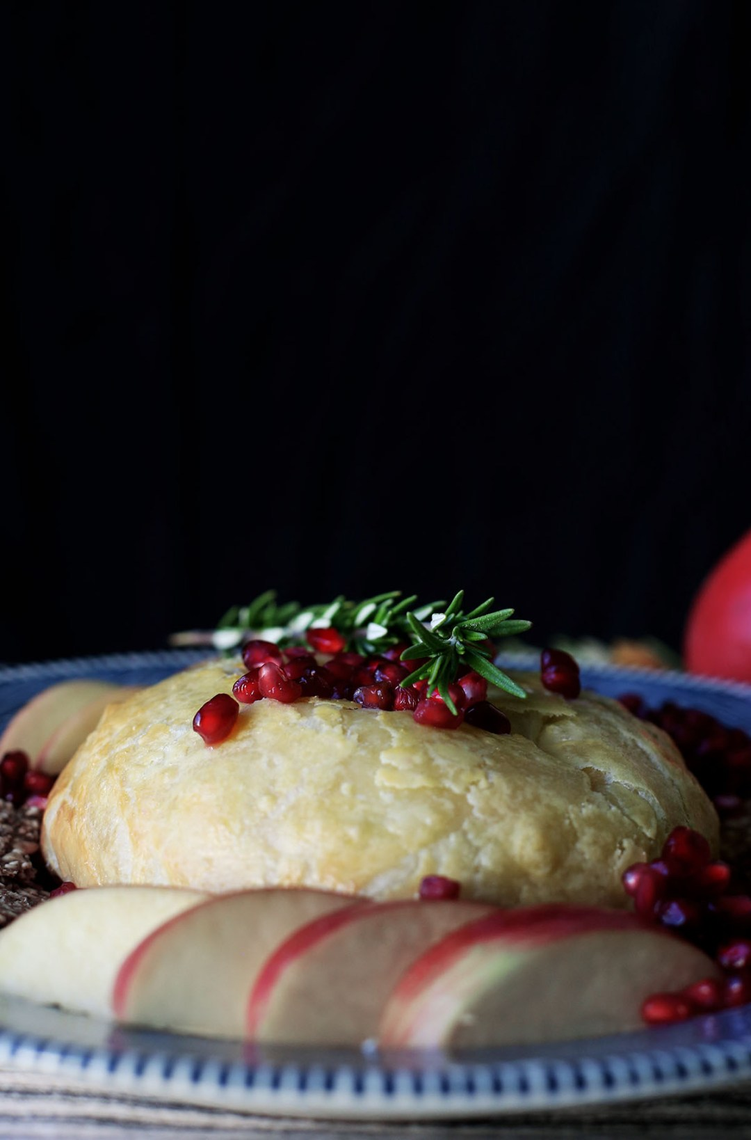 Rosemary Marmalade Pastry Wrapped Brie